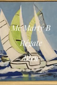 bateau blanc voilier