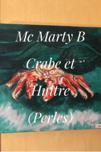 crabe et huitre